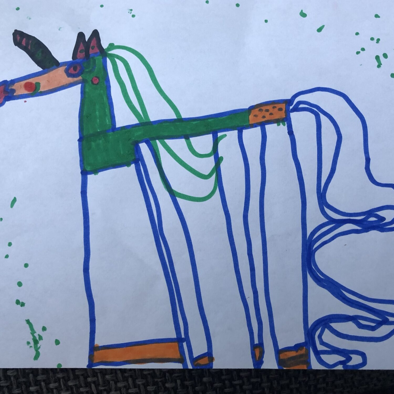 Muurschildering Esdoornstraat tekening27