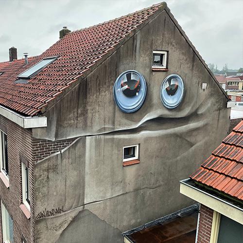 Lachende huis Tilburg